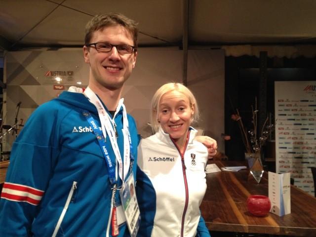 Impressionen Olympische Spiele Sochi 2014 - Silbermedaille für Daniela Iraschko-Stolz