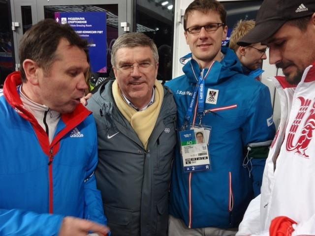 Impressionen Olympische Spiele Sochi 2014 mit IOC Präsident Thomas Bach