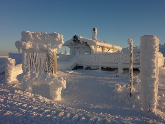 Eislandschaft in Levi